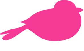 Hot Pink Bird Cage With Birds PNG Clip art