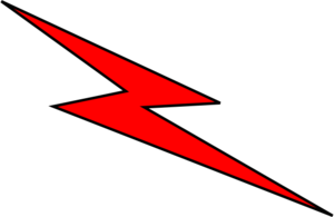 Lightning Bolt PNG icon