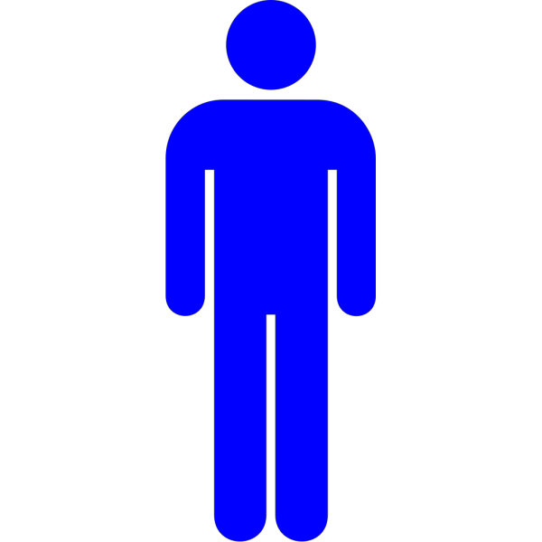 Blue Man PNG icons