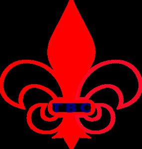 Royal Blue Fleur De Lis PNG Clip art