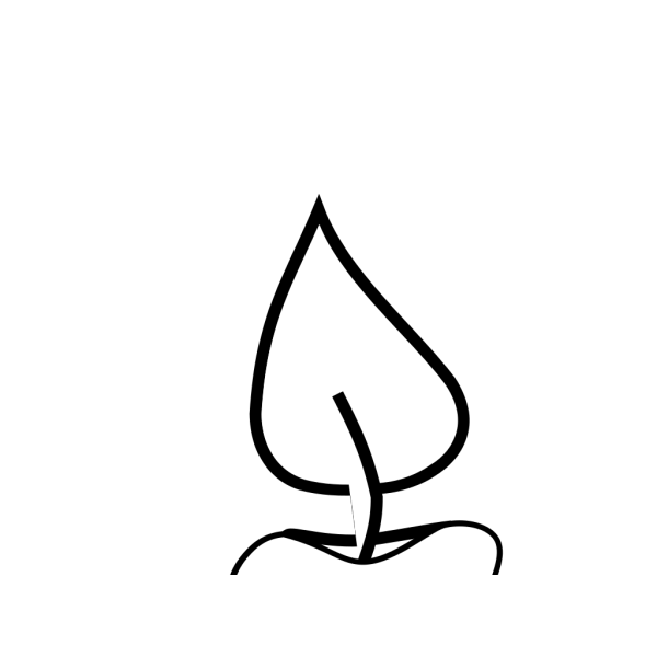 Blue Candle PNG images