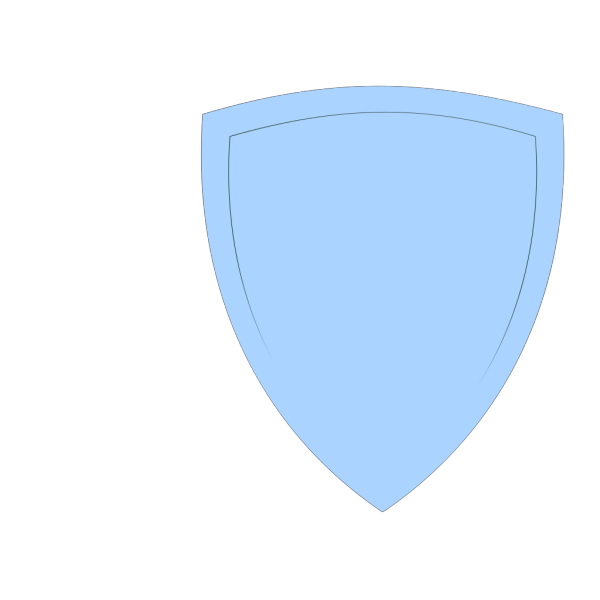Shield, Light Blue PNG Clip art