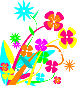 Butterfly And Flowers PNG image