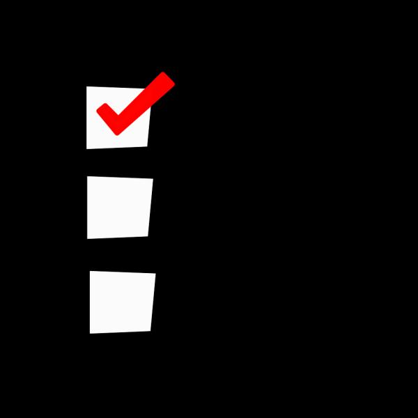 Check List PNG Clip art