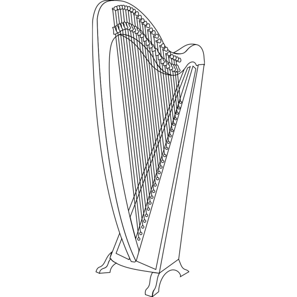 Harp PNG images