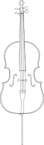 Cello PNG icon