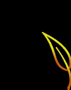 Bi Serrate Leaf PNG Clip art
