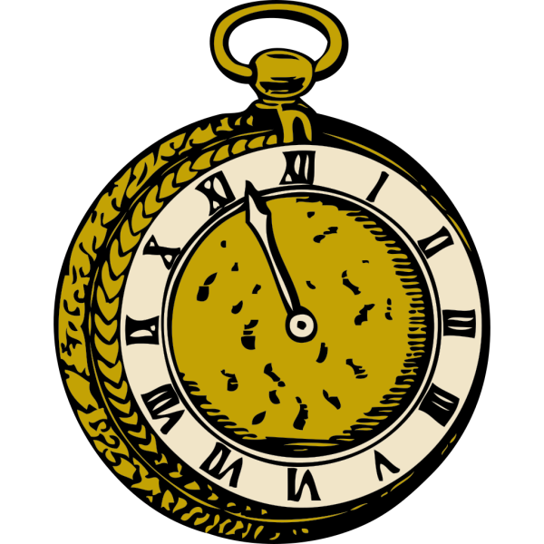 Old Pocketwatch PNG Clip art