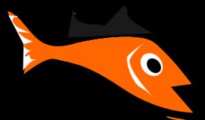 Edited Orange Fish PNG images