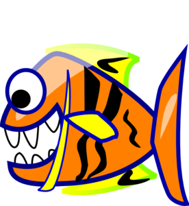 Edited Orange Fish PNG Clip art