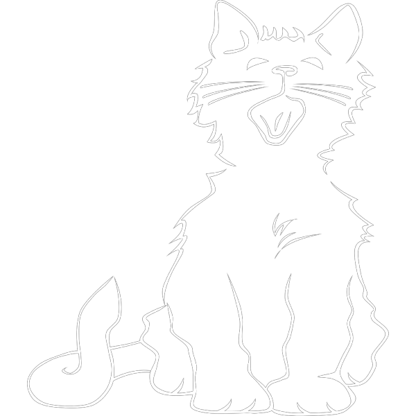 Sleepy Cat PNG Clip art