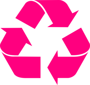 Recycle Symbol Blue On Tan PNG Clip art