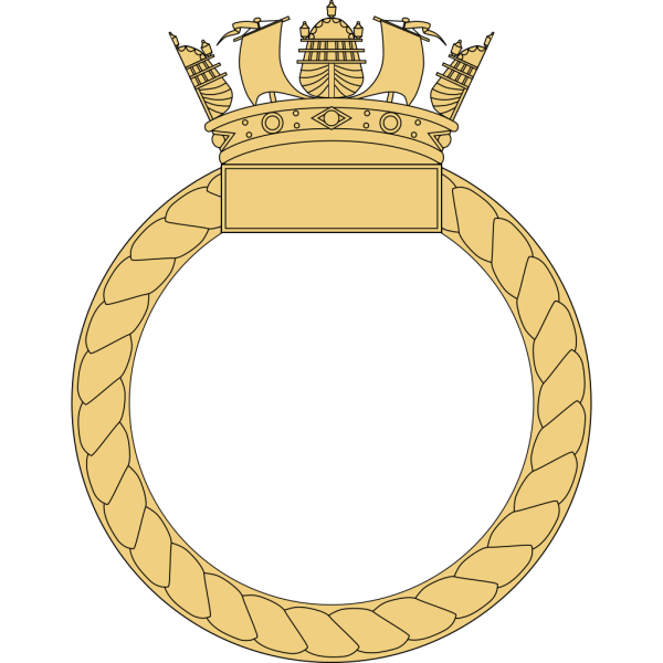 Caggles Ship S Badge