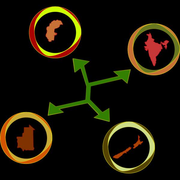 Cibo International Network PNG Clip art