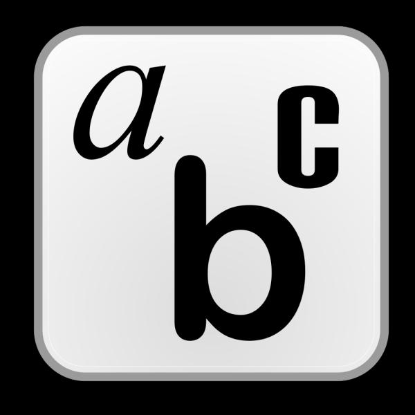 Preferences Desktop Font PNG images