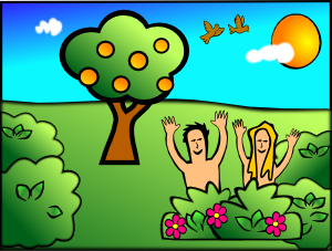 Adam Eve Happy PNG Clip art