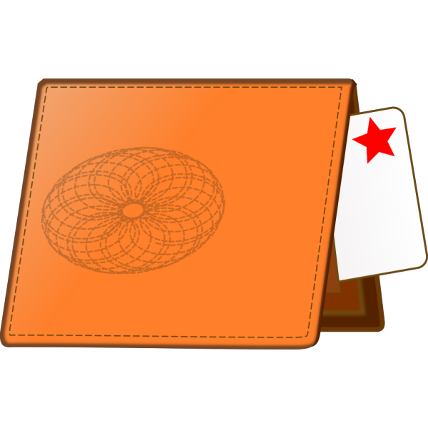 Leather Wallet PNG Clip art