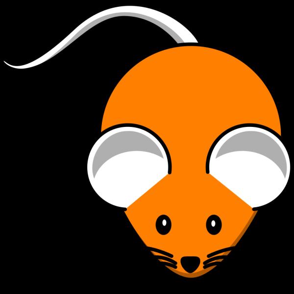 Orange Mouse PNG Clip art