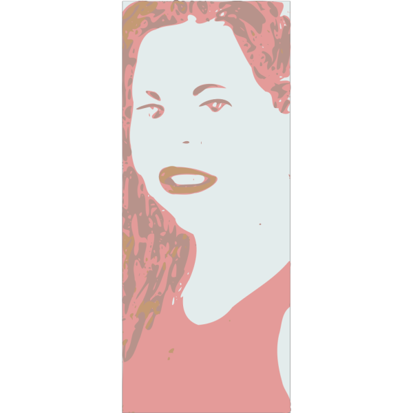 Young Woman Face PNG Clip art