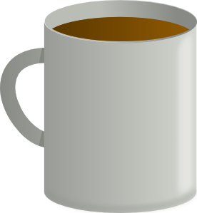 Coffee Cup From Top PNG Clip art