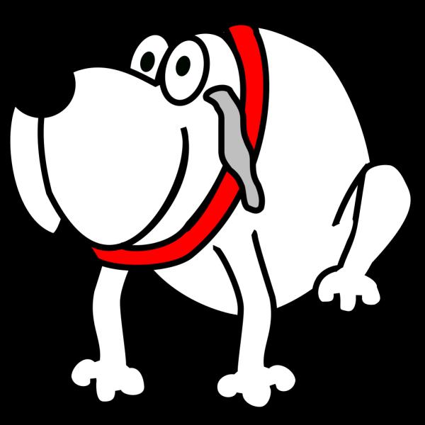 Gardian Dog White PNG Clip art