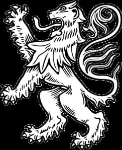 White Lion 2 PNG Clip art