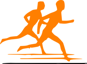 Jogging Boy Clip art