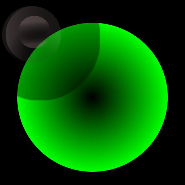 Green Sphere PNG Clip art