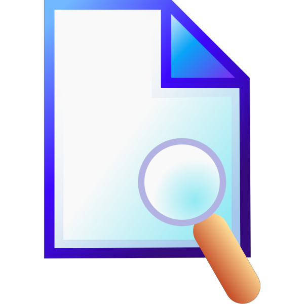 Search Document PNG images