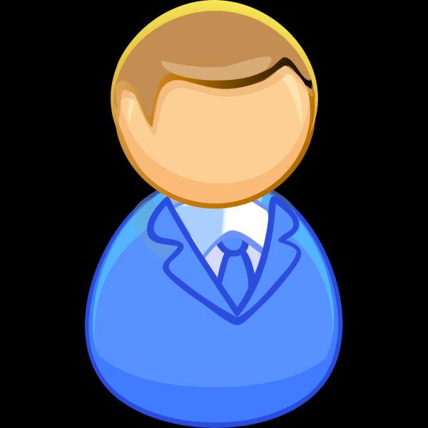 Blue Icon Man 03 PNG Clip art