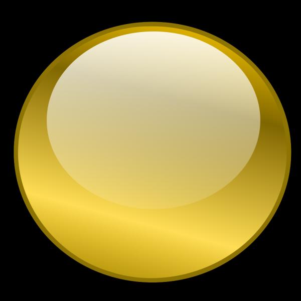 Orange Round Button 2 PNG Clip art
