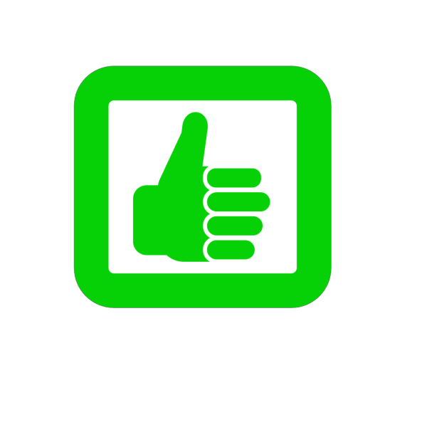 Thumbs Up Brown PNG images