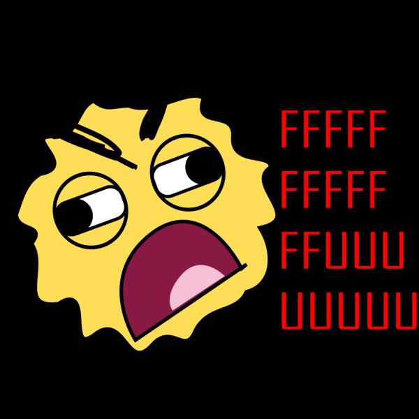 Rage Smiley PNG Clip art