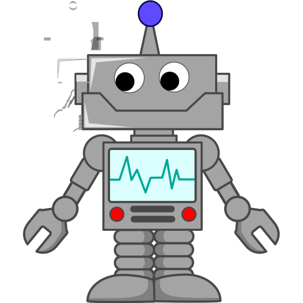 Cartoon Robot PNG images