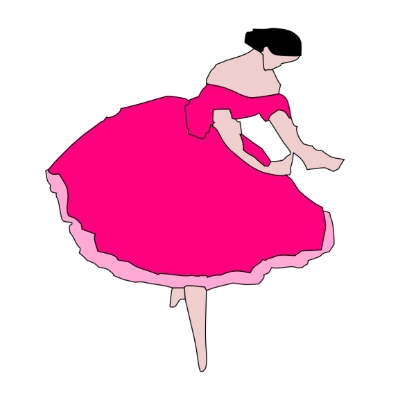 Ballet Dancer 2 PNG images