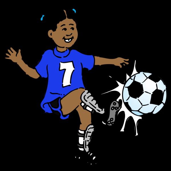 Soccer-blue PNG Clip art