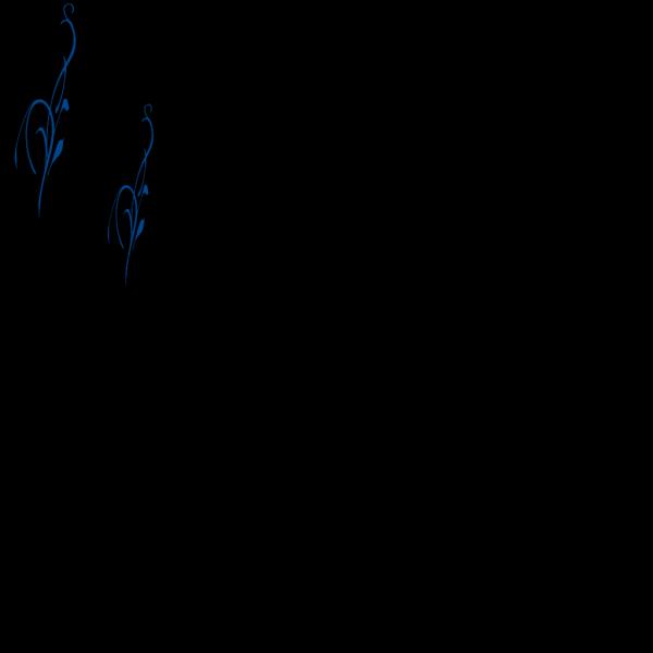 Blue Vine PNG Clip art
