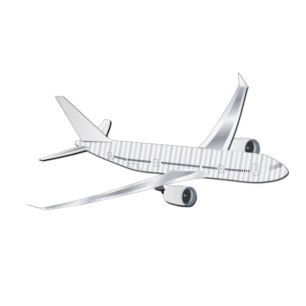 Plane Silhouet PNG images