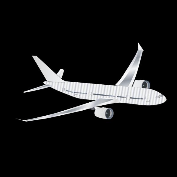 Plane Silhouet PNG Clip art