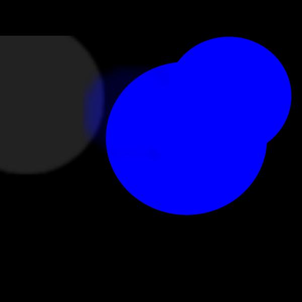 Blue Pink Hybrid Mouse PNG Clip art
