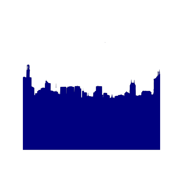 Dark Blue Skyline PNG icons