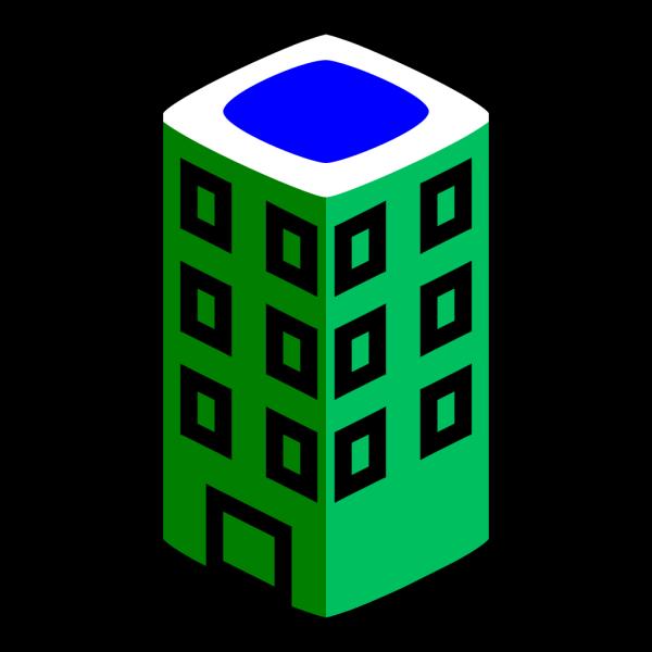 Building Blue PNG Clip art