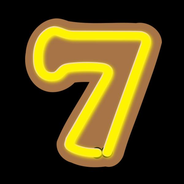 Number Seven PNG Clip art
