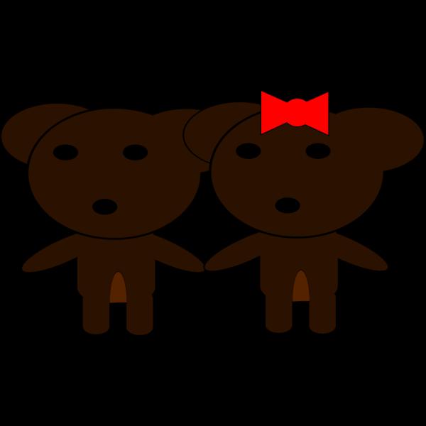 Bear Family PNG Clip art