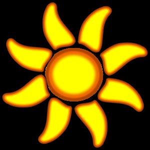 Sun 4 PNG Clip art