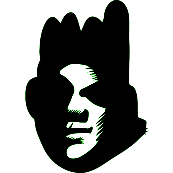 Black Face PNG Clip art