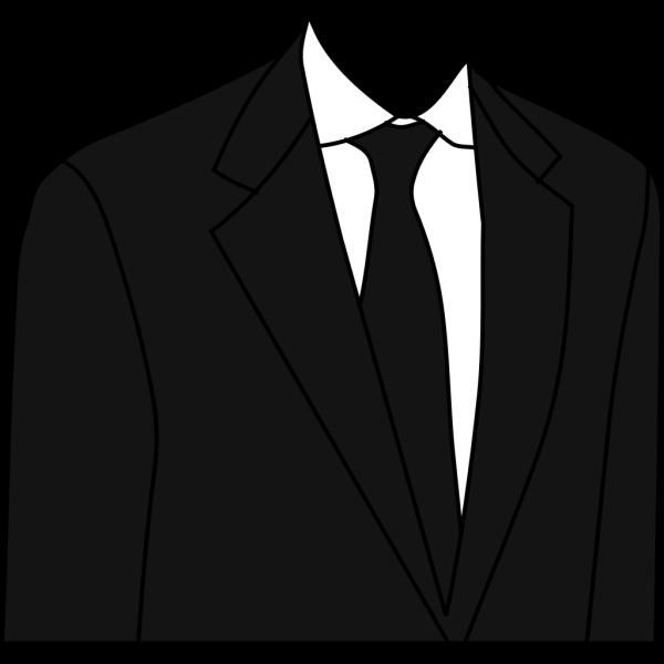 Black Suit PNG Clip art