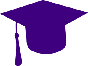 Graduation Hat Blue And Gold PNG images