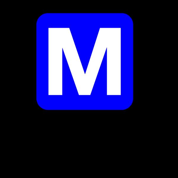 Subway Blue PNG Clip art