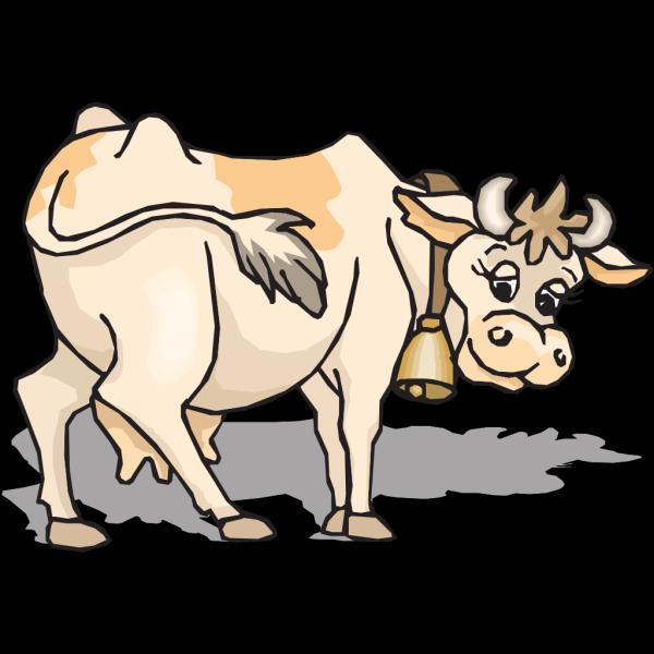 Light Brown Cow PNG Clip art